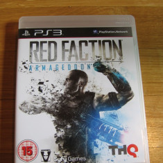 JOC PS3 RED FACTION ARMAGEDDON ORIGINAL / STOC REAL in Bucuresti / by DARK WADDER - Jocuri PS3 Thq, Actiune, 16+, Single player