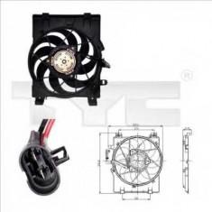 Ventilatoare auto - Ventilator, radiator OPEL VITA C 1.0 - TYC 825-0001
