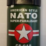 Spray lacrimogen cu piper NATO pentru autoaparare