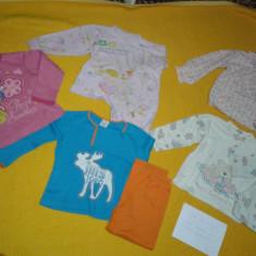 Lot 4 f - haine fetite - mar. 92 - 98 - pijamale in stare buna