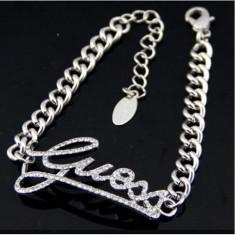 Bratara Fashion - GUESS - Culoare Argintiu