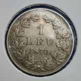 Monede Romania - ROMANIA LEU 1870 RAR!!!