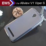 Husa Silicon Gel TPU Allview V1 Viper S mata anti-amprenta
