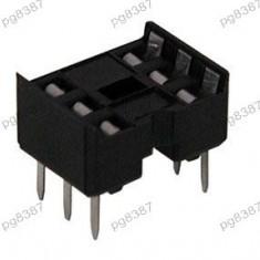 Soclu pentru CI, 6 pini, pas pini 2, 54mm - 128602 - Motoras pas cu pas