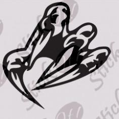 Tapet - Monster Claw_Sticker Auto_Sticker Diverse_DIV-191-Dimensiune: 25 cm. X 25 cm. - Orice culoare, Orice dimensiune
