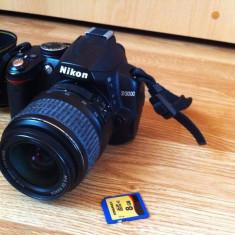 Vand Nikon D3000 - Telecomanda Aparat Foto