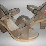 LICHIDARE STOC ! Superbe sandale dama Timberland ORIGINALE noi Sz 37, 5/38 PIELE!, Culoare: Gri, Piele naturala