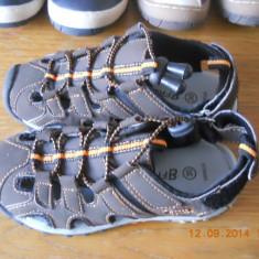Sandale baieti - Sandale copii, Marime: 30, Culoare: Maro, Din imagine