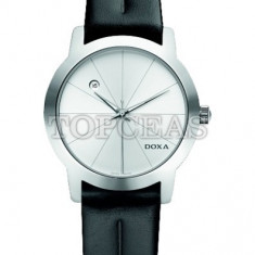 Ceas Barbatesc Doxa - Ceas de lux Doxa Grafic Round Steel Silver, original, nou, cu factura si garantie!