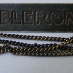 Lant vechi din argint cu medalion TOBLERONE - de colectie - Lantisor argint