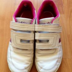Adidasi copii, Fete, Alb - Adidasi fete marime 34