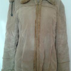 Palton dama - Cojoc cu gluga XL