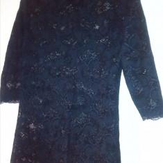BLUZA ELEGANTA DANTELA NEAGRA - Bluza dama, Marime: 40, Culoare: Negru, Marime: 42, Maneca 3/4, Negru