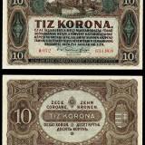 Bancnota Straine, Europa - UNGARIA 10 KORONA 1920 UNC