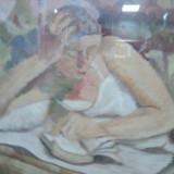 ANATOL VULPE - TANARA CITIND - Pictor roman
