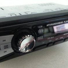 CD Player MP3 auto - MP3 Player/Radio FM cu telecomanda-USB/SD/AUX/EQ/CEAS