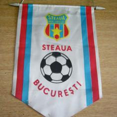 Fanion fotbal - PENTRU UN FAN STEAUA BUCURESTI - FANION VECHI - PIESA DE COLECTIE