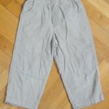 Pantaloni raiati bej deschis, marca Okie Dokie, baieti 3 ani
