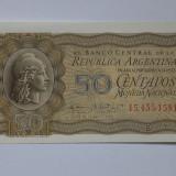 Argentina 50 Centavos 1952-1956 UNC - bancnota america