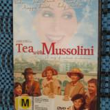 TEA WITH MUSSOLINI - film DVD (original, CA NOU!!!) - Film Colectie, Engleza