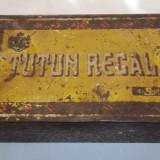 cutie metalica mare Tutun Regal anii '30