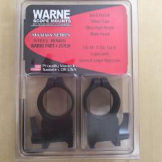 Prindere luneta Warne Ultra High 217 LM pt luneta cu diametrul de 56mm from USA
