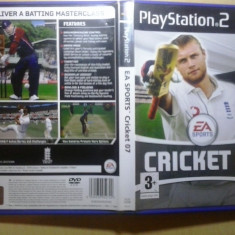 EA Sports Cricket 07 - JOC PS2 Playstation ( GameLand) - Jocuri PS2, Sporturi, 3+, Multiplayer