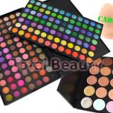 Trusa farduri 168 culori 02 Fraulein38 + 15 Concealer + Buretel Cosmetic CADOU