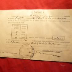 Chitanta 1945 - Dovada achizitie Titluri -Imprumutul Refacerii Nationale - Hartie cu Antet