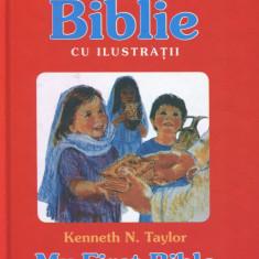 Biblia pentru copii Kingmax - Prima mea Biblie cu ilustraţii (bilingva)