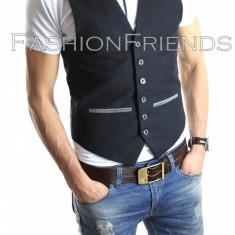 Vesta tip ZARA vesta eleganta casual - vesta barbati - vesta slim fit - cod 4109