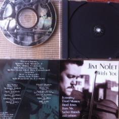 Muzica Jazz, CD - Jim nolet with you cd jazz contemporan jazz violinist 1993