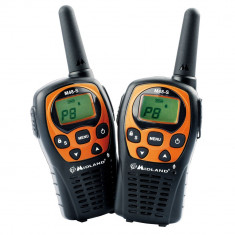 Resigilat - Statie radio PMR portabila Midland M48-S set cu 2bc Cod C1036