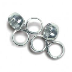 Inele darts de aluminiu pentru tije de plastic - Inel placate cu aur
