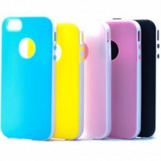 Carcasa protectie spate silicon + plastic IPHONE 4/4S - Husa Tableta Apple