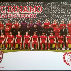 Fotografie Fotbal FC DINAMO BUCURESTI 2014-2015