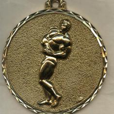 Medalii Romania, An: 1960 - MEDALIE CULTURISM 95 mm.