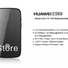 Router 4g huawei e589 /mini router mobil huawei decodat orice retea - Car kit