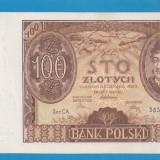 Polonia 100 zloti 1934 UNC - bancnota europa