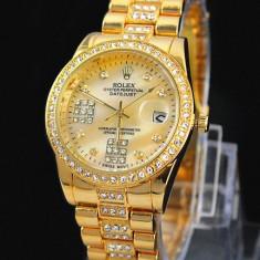 Ceas de Dama Rolex, Elegant, Analog, Placat cu aur - CEAS DAMA ROLEX OYSTER PERPETUAL 2 Gold-PRET IMBATABIL-CALITATEA 1-SUPERB-REDUS