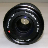 Obiectiv Tokina SD 70-210mm 1:4-5.6 montura Canon C/FD pentru curatat si reparat - Obiective RF (RangeFinder)