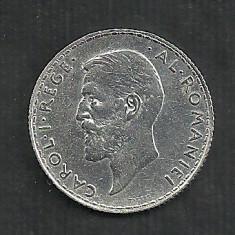 ROMANIA 1 LEU 1912 ARGINT [1] XF+++ LUCIU, livrare in cartonas - Moneda Romania