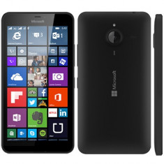 Telefon Microsoft Lumia 640, negru, nefolosit - sigilat (cu garantie) + husa, Vodafone, 2G & 3G & 4G