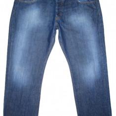 (BATAL) Blugi CALVIN KLEIN - (MARIME: W 38 / L 32) - Talie = 100 CM - Blugi barbati Calvin Klein, Culoare: Albastru, Lungi, Drepti, Normal