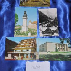 Carte Postala, Circulata, Fotografie, Romania de la 1950 - Lot 5 CP FAGARAS. (Carti postale vechi, Vederi Romania)
