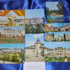 Lot 8 CP CRAIOVA (Carti postale vechi, Vederi Romania), Circulata, Fotografie, Romania de la 1950
