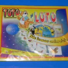 Carte de povesti - JOC DIDACTIC pentru copii TOTO SI LOTO cu animale - DIN LUMEA ANIMALELOR (SIGILAT) (00640