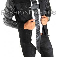Geaca de blugi tip ZARA - geaca slim fit - geaca fashion - geaca de blugi 4999 - Geaca barbati, Marime: S, M, L, XL, Culoare: Din imagine