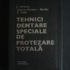 COLECTIV AUTORI - TEHNICI DENTARE SPECIALE DE PROTEZARE TOTALA