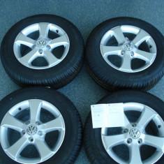 Jante aliaj VW 15 inch, originale 5x112 - Janta aliaj Volkswagen, 6, 5, Numar prezoane: 5